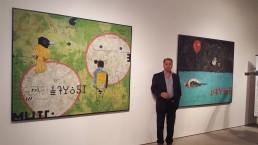 Bob Landstrom at Alan Avery Art Company, 2016